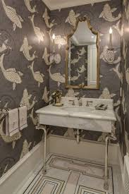 Small Powder Room Wallpaper Ideas 217 Best Dazzling Wallpaper Designs Images On Pinterest