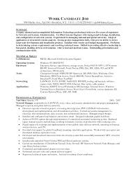 Technical Skills On Cv System Administrator Resume Resume For Your Job Application