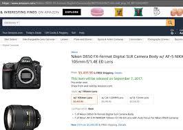 amazon black friday deals nikon camera accessories you can u0027t pre order u201cnikon d850 body u201d at amazon us now nikon