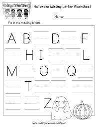 printable halloween worksheets free printable halloween missing letter worksheet for kindergarten