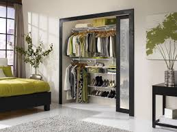 Space Saving Closet Ideas With A Dressing Table Small Closet Organization Ideas Pictures Options U0026 Tips Hgtv
