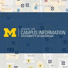 Map Of University Of Michigan by Campus Map Campus Information Campus Map Campus Information