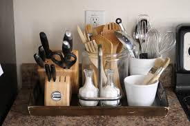 kitchen counter organizer shelf ideas with countertop images