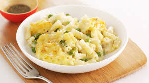 macaroni cheese with peas tesco baby club
