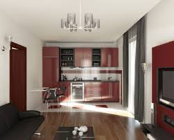 Kitchen Design Photos For Small Spaces Black Living Room And A Kitchen Style For Small Space Black And