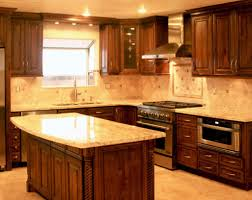 Ready Made Kitchen Cabinet by Kitchen Pre Made Kitchen Cupboards Dark Brown Rectangle