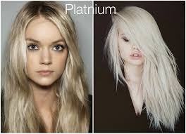 Best Hair Colors For Cool Skin Tones Fall Hair Colors Platnium Blond Looks From The Blog Pinterest