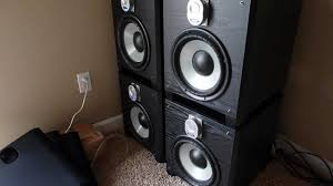 3 subwoofers home theater quad energy s10 3 subwoofers 1 mov youtube