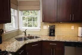 Wallpaper For Backsplash In Kitchen Corner Sinks For Kitchens Corner Kitchen Sink Design Ideas Home