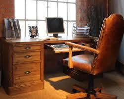 Solid Oak Office Furniture by Oak Office Table Safarihomedecor Com
