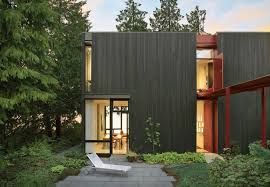 Dwell Home Plans by Modern Concrete House With Hardwood Floor Large Window Stock Save
