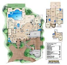 port royal house plan luxury tuscan architectural style mansion