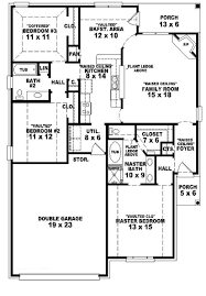 simple single story 4 bedroom house plans for inspiration interior