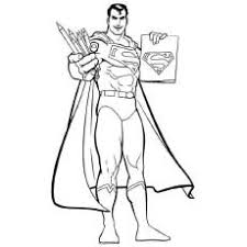 30 free printable superman coloring pages