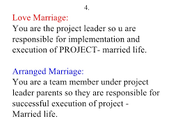 arranged marriage by parents essay Arranged Marriage Essay Dissertation Critique Exemple Plan