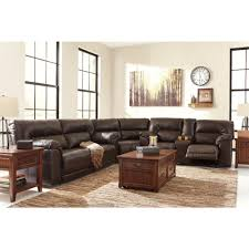 Ashley Furniture Loveseat Recliner Ashley Furniture Barrettsville Durablend Reclining Sectional In