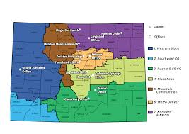 Southwest Colorado Map by Office U0026 Shop Scouts Of Colorado