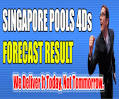 SINGAPORE POOLS 4D RESULTs