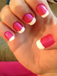 pink and white manicure ma makeup lovers anonymous
