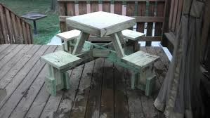 Plans For Wood Picnic Table by Build An Awesome Floating Picnic Table