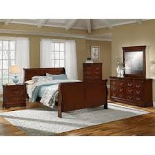 Neo Classic Piece King Bedroom Set Cherry Value City Furniture - 7 piece king bedroom furniture sets