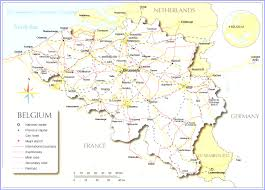 Political Map Europe by Maps Of Europe Stuning Map Europe Showing Belgium Evenakliyat Biz