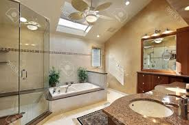 Modern Master Bathroom Ideas Modern Master Bathroom Design White Ceramic Bowl Sink With Mirror