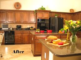 Restaining Kitchen Cabinets How Much Does It Cost To Restain Kitchen Cabinets Kitchen