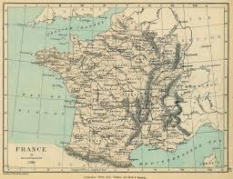 Map Of South Of France by