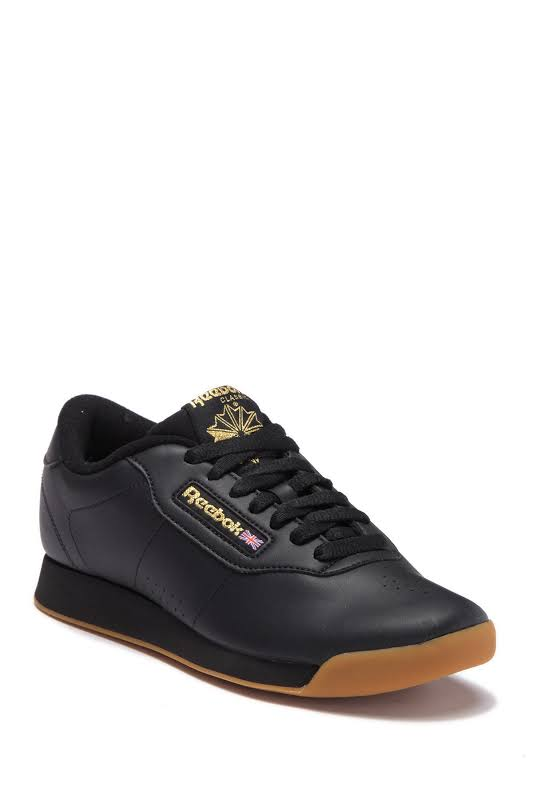 Reebok Princess Fashion Sneaker 10.5M Black