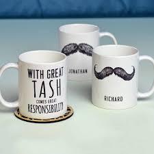 personalised u0027great tash u0027 man mug by oakdene designs
