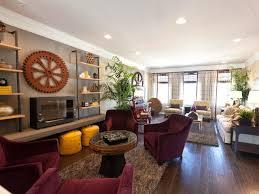 living room kitchen dining living combo long narrow interior