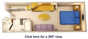Disney Magic Floor Plan Disney Magic Staterooms Standard Inside