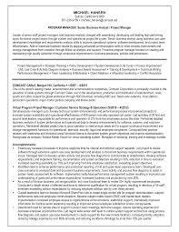 sample resume simple junior business analyst sample resume free resume example and junior project analyst resume sample professional resumes sample resume simple program manager and senior business analyst