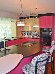 Kitchen Cabinet Top Decor by Pleasant Pink Kitchen Cabinets Top Home Decorating Ideas With Pink