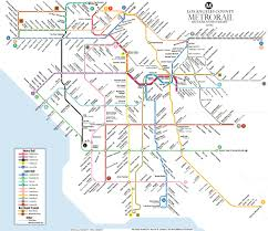 Los Angeles County Map by Take Two This Dream Metro Map Made Curbedla Drool 89 3 Kpcc
