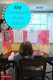 Create this easy DIY Homework Study Station to help your kids focus    homework help
