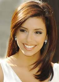 medium length straight hairstyles for round faces most popular bang length haircuts for round faces women medium