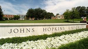 A view of the Library and front entrance to the JHU Homewood campus  Johns Hopkins University  Office of Undergraduate Admissions