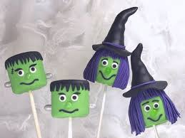 halloween marshmallow pops tutorial cakecentral com