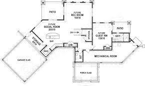 tahloola river lodge rustic floor plan cottage floor plan