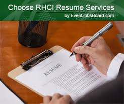 Reasons to Hire a Resume Writing Service for Your Job Search     Business Travel Destinations RHCI Resume Services by Event Jobs Board
