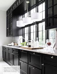 Black Kitchen Designs Photos 16 Kitchens With Black Kitchen Cabinets Done 16 Different Ways
