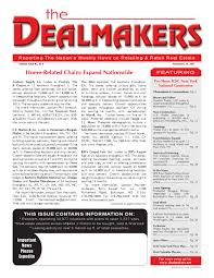dealmakers magazine november 25 2011 by the dealmakers magazine
