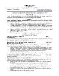 Sample Resume Management Position Management Information Systems Resume Resume For Your Job