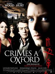 Crimes a Oxford Megavideo poster