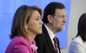 Rajoy, Cospedal,