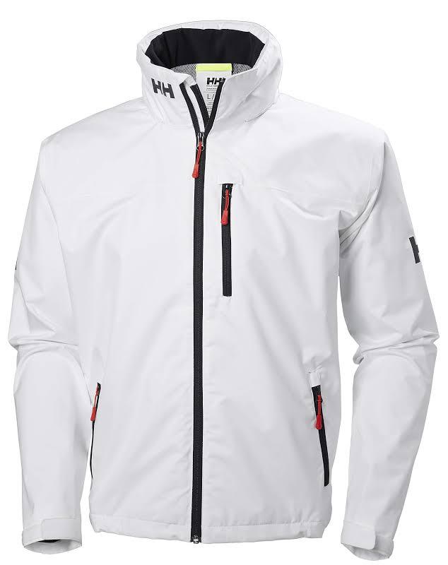 Helly Hansen Crew Hooded Jacket 33875 White XL