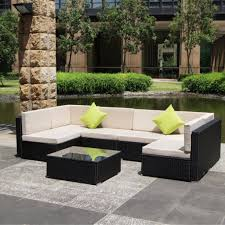 Resin Wicker Patio Furniture Sets - enjoy your summer with outdoor wicker furniture 50 idea photos
