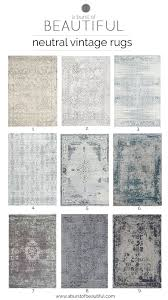Log Cabin Area Rugs by Neutral Vintage Area Rugs Spaces Patterns And Vintage